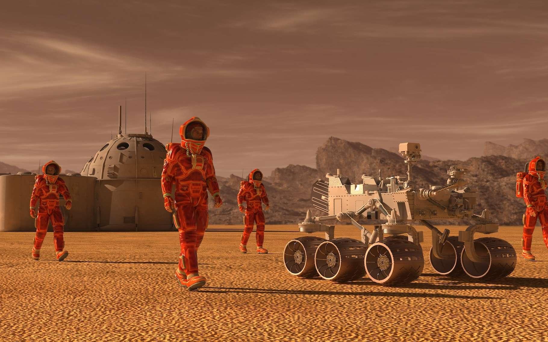 Sur Terre, construire un calendrier qui coïncide avec le cycle des saisons n'a pas été simple. Si des Hommes s'installent durablement sur Mars, il faudra faire de même sur la Planète rouge. © elenaed, Adobe Stock