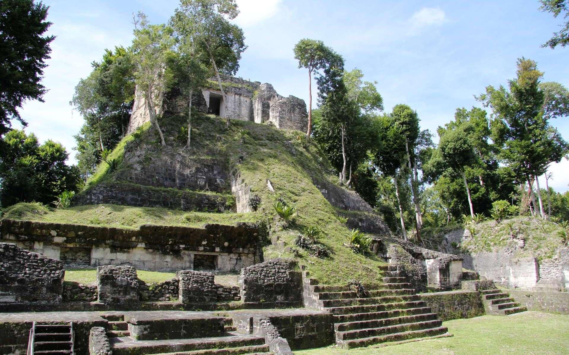 Le temple maya de Nakum au Guatemala. © cc-by-sa-40-jorge-antonio-leoni-de-leon
