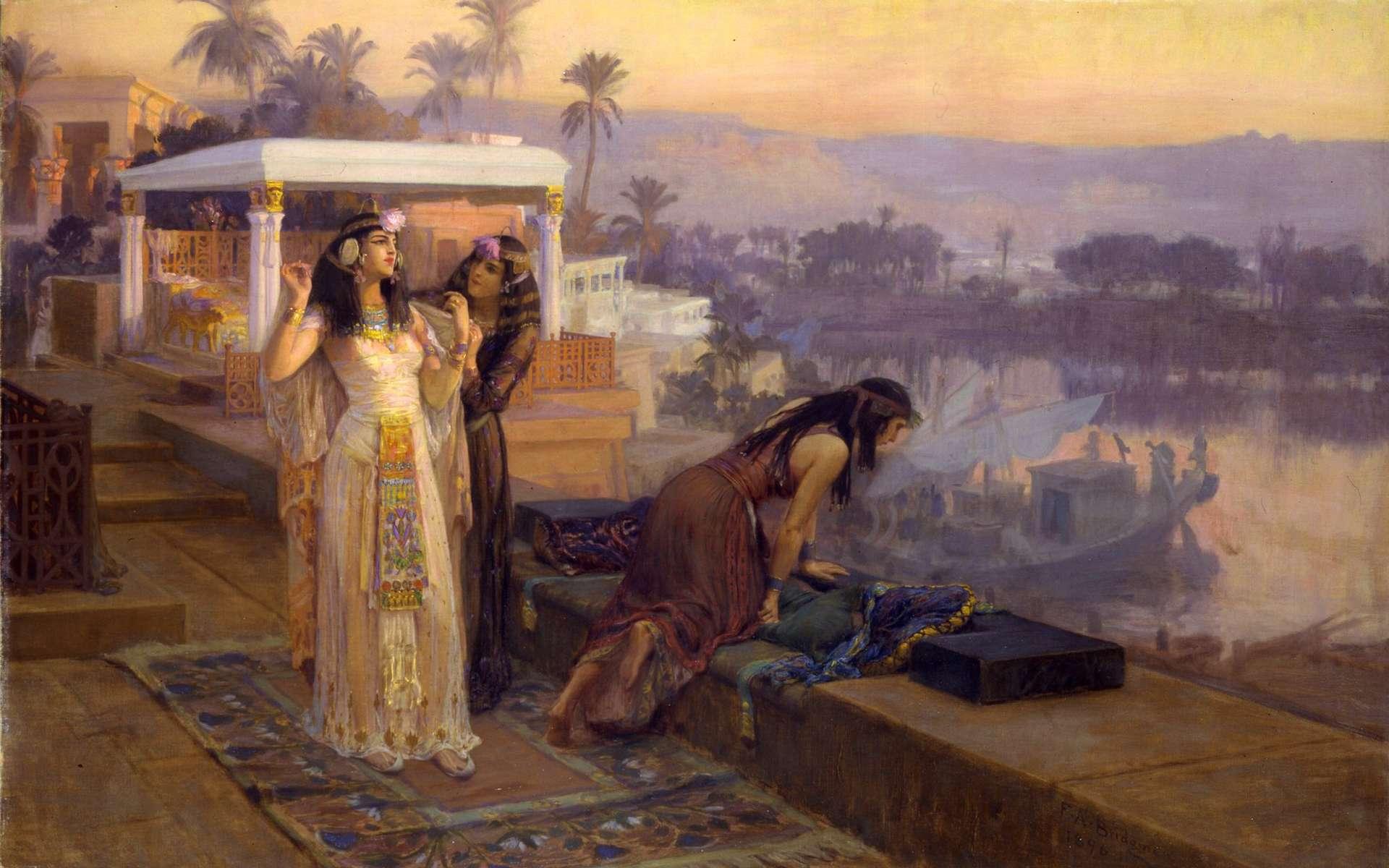 Cléopâtre était connue pour son amour des parfums. © Frederick Arthur Bridgman, Wikipedia