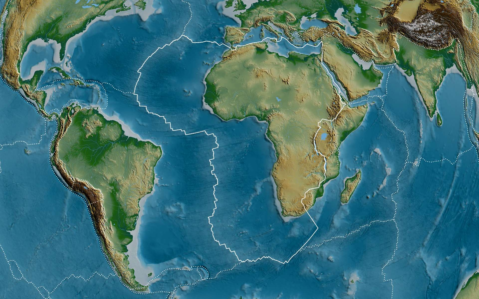 Des millions d'années de mouvements tectoniques ont modelé notre monde. © Yarr65, Adobe Stock