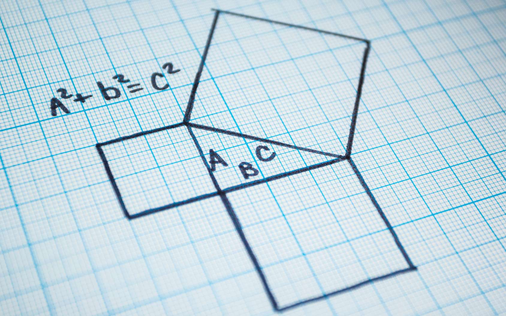 Quand le triangle est rectangle. © Andrii Zastrozhnov, Fotolia