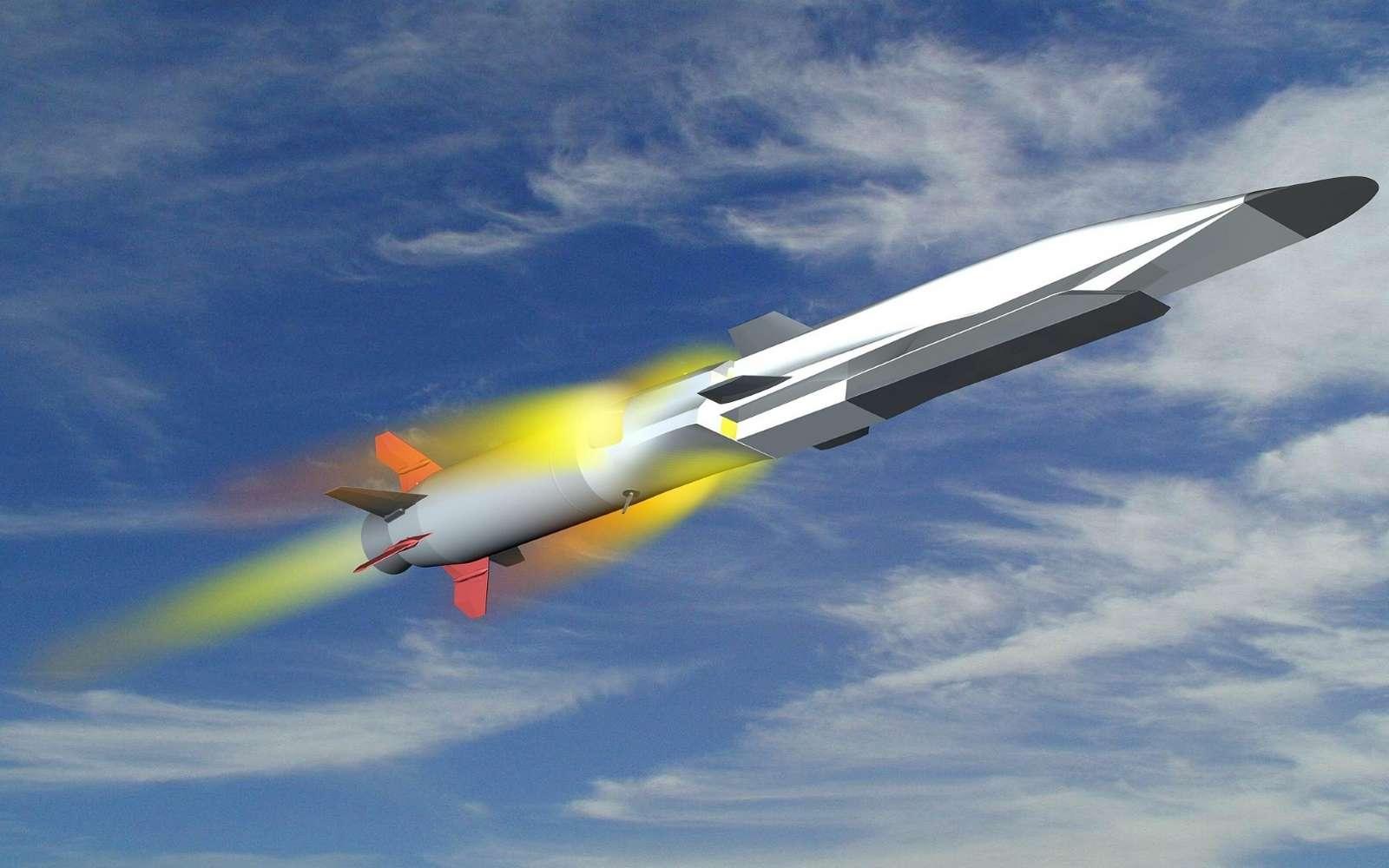 Equipé d'un superstatoréacteur, le X51 Waverider conçu par Boeing est potentiellement capable d'atteindre Mach 6. De son côté, la France compte mettre au point un planeur hypersonique aussi performant. © Boeing