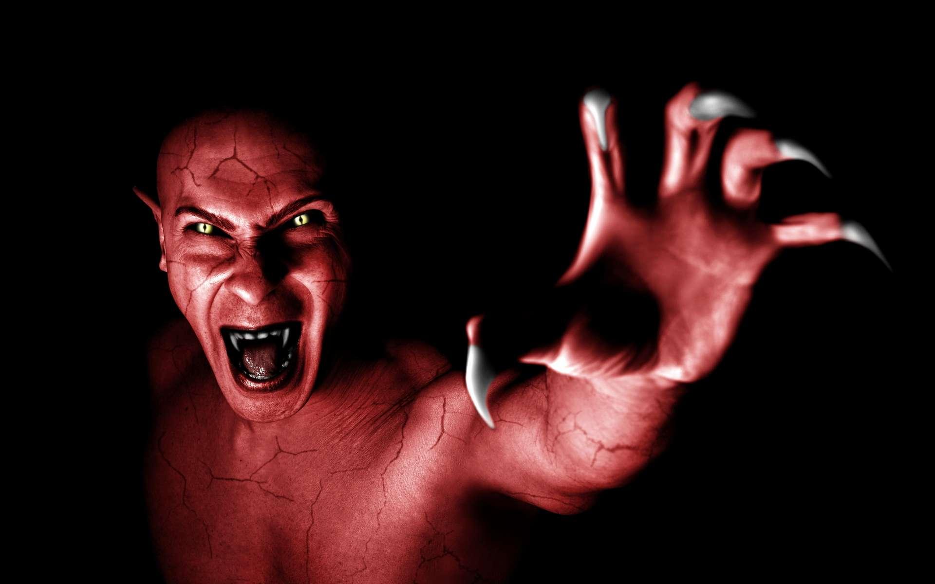 Suite à la propagation d'une bactérie, presque tous les humains sont devenus des vampires. © Serpeblu, Adobe Stock