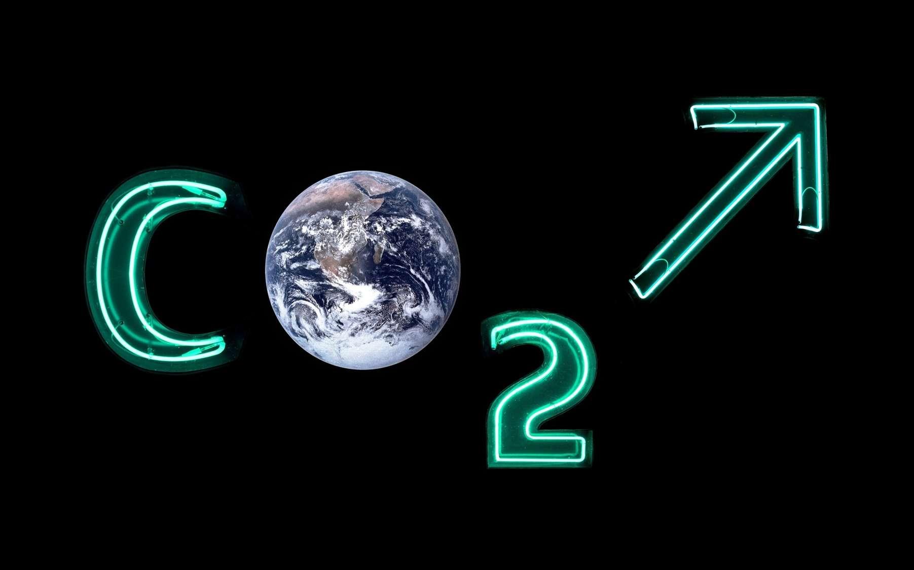 Une vue d'artiste du problème du gaz carbonique atmosphérique. © Franck Thomasse, fotolia