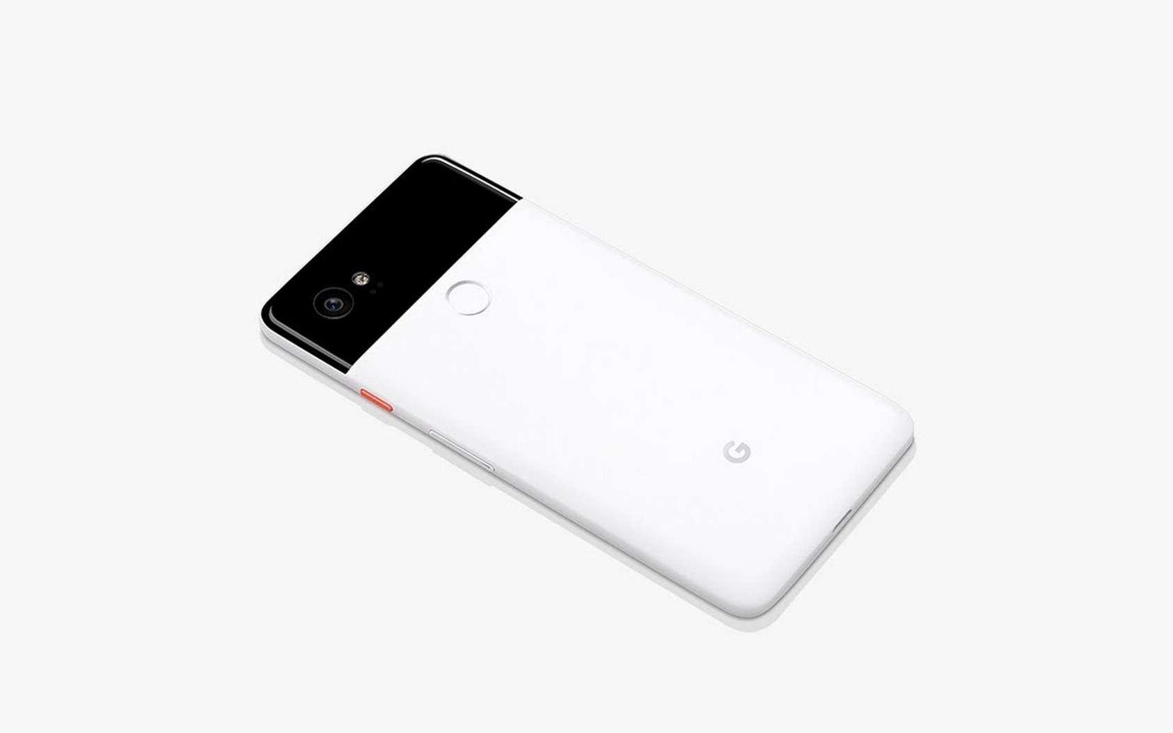 Google mise tout sur l'intelligence artificielle. Ici, le smartphone Pixel 2, qui est doté d'un écran Oled 5 pouces. © Google