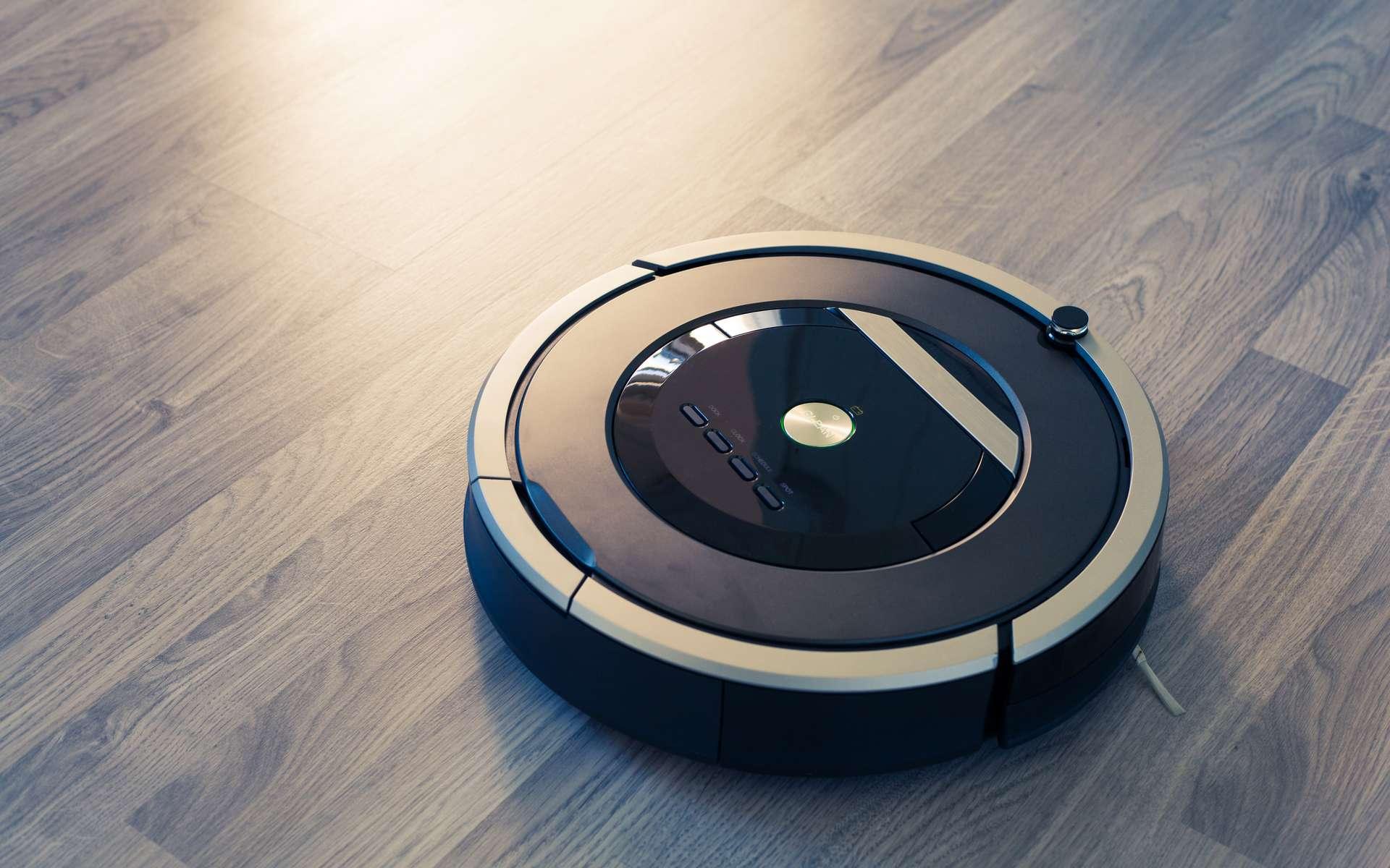 Pour se déplacer dans une pièce en évitant les obstacles, l'aspirateur ne s'aide pas d'une caméra mais d'un laser. © Roomba