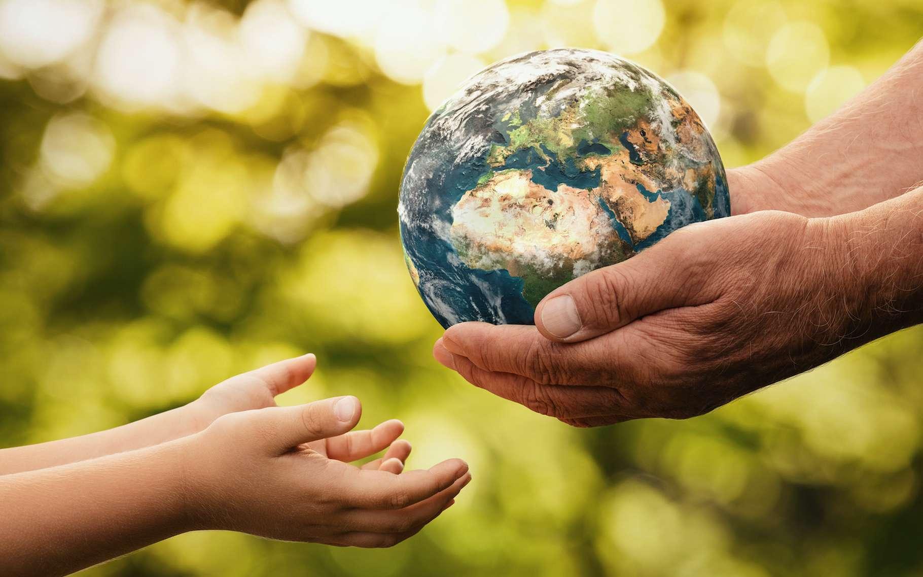 Imaginez un enfant, quelque part autour de 2100, qui écrirait à son grand-père qui, en son temps, a su prendre le problème du réchauffement climatique à bras le corps. Que lui raconterait-il ? © rangizzz, Adobe Stock