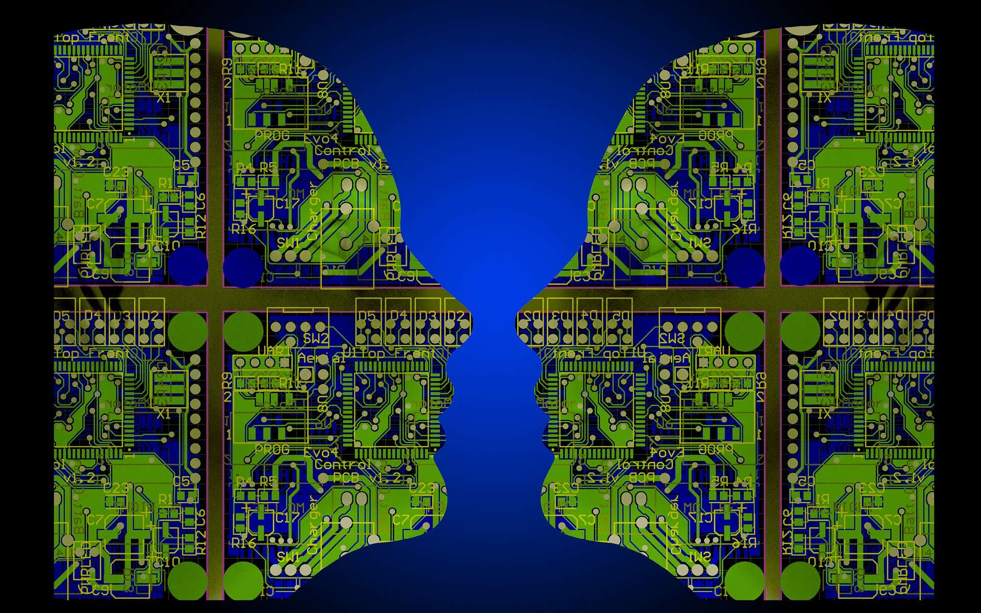 En publiant le code de son API d'intelligence artificielle, Google espère sans doute bénéficier des travaux de la communauté open source. © Geralt, CC0 DP, Pixabay