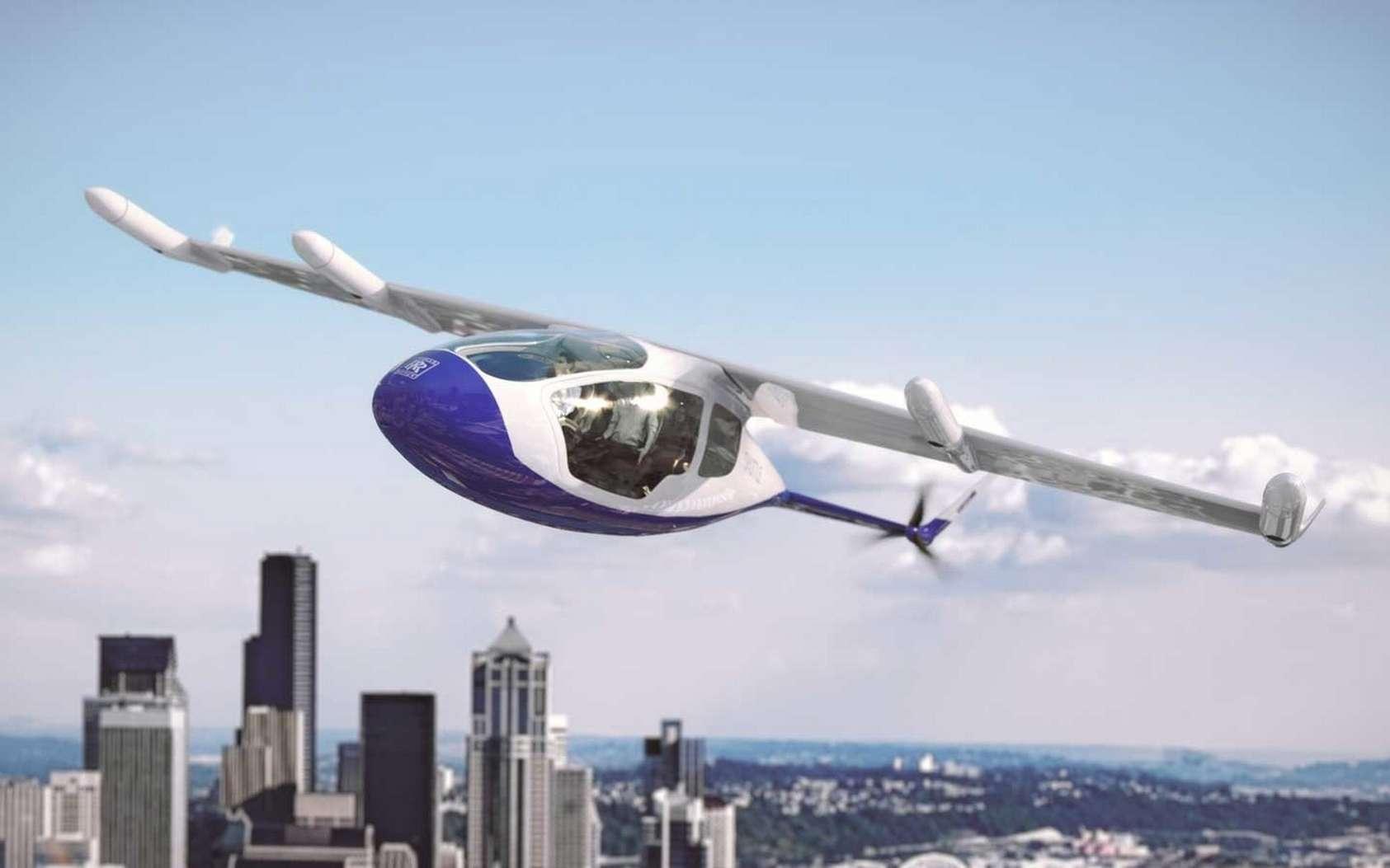 Le concept de taxi volant électrique EVTOL de Rolls-Royce. © Rolls-Royce