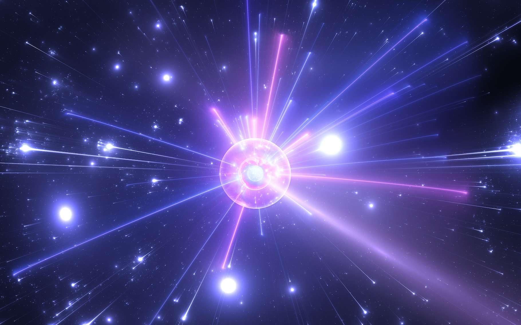 Dans certaines circonstances, des électrons peuvent former des paires et se mettre à glisser sans effort dans des matériaux appelés supraconducteurs, leur permettant ainsi de conduire le courant électrique sans résistance. Des physiciens de l'université de Brown (États-Unis) prouvent aujourd'hui que ces paires quantiques – connues sous le nom de « paires de Cooper » – sont également capables d'agir comme un nouvel état de la matière. © Peter Jurik, Adobe Stock