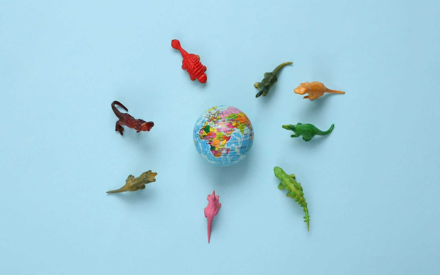 Les dinosaures herbivores ont pu quitter l'Amérique du Sud grâce à un changement du climat. © splitov27, Adobe Stock