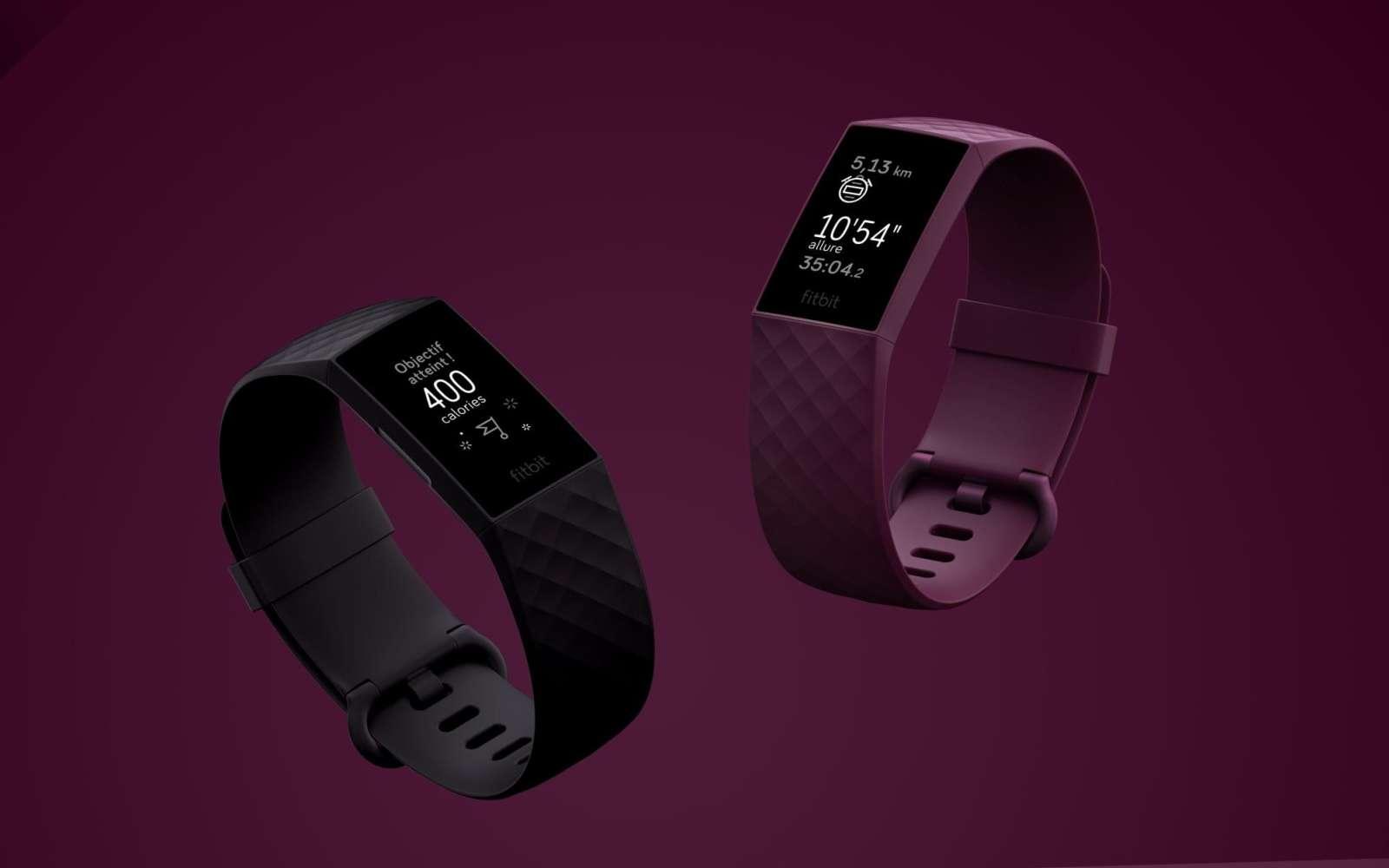 La Nasa a choisi d'équiper ses astronautes et au total 1.000 employés du bracelet connecté Fitbit Charge 4 pour détecter la Covid-19. © Fitbit
