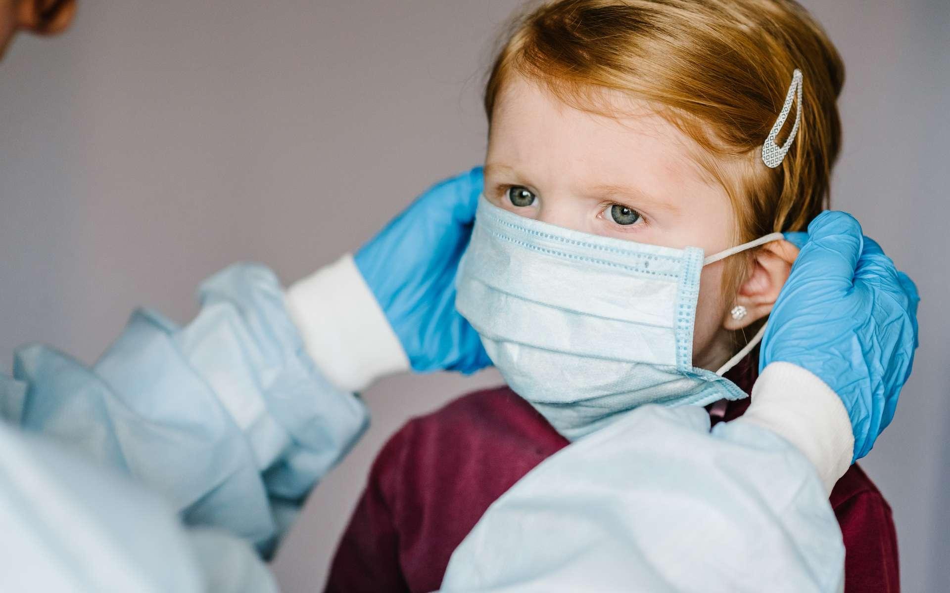 Selon les premières observations du variant Delta, les autorités sanitaires américaines n'ont pas relevé plus de formes graves chez les enfants de Covid-19. © Sergii Sobolevskyi, Shutterstock