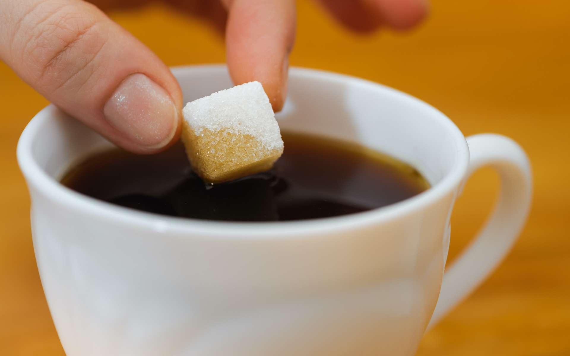Le sucre de dissout plus vite dans l'eau chaude. © Mikhail Ulyannikov, Adobe Stock