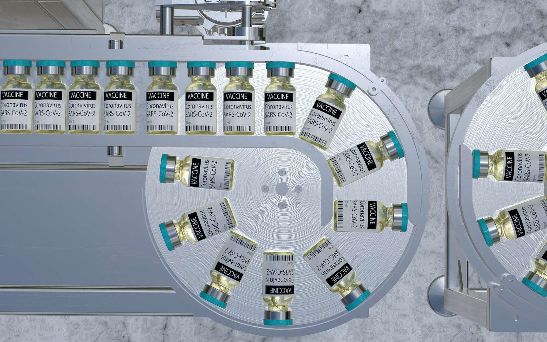 La fabrication de vaccins à grande échelle n'est pas si facile que ça. © Mike Mareen, Adobe Stock