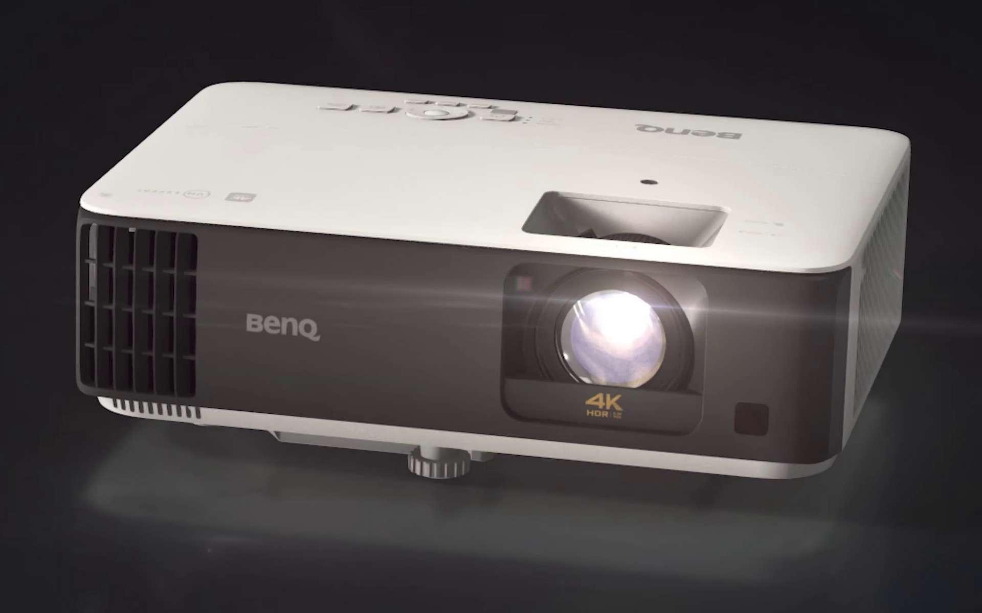 Le nouveau projecteur TK700STi de BenQ à destination des gamers. © BenQ