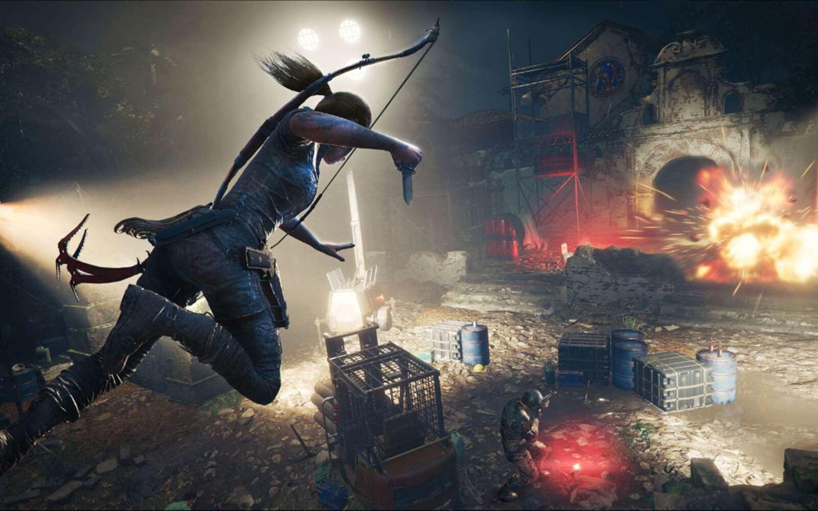 Futura et Lara Croft vous présentent les meilleurs jeux d'aventure sur PC ! © Square Enix