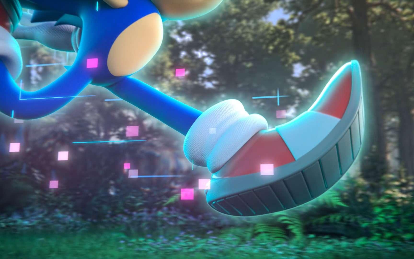 Sega a annoncé un nouveau jeu Sonic avec un teaser énigmatique. © Sega