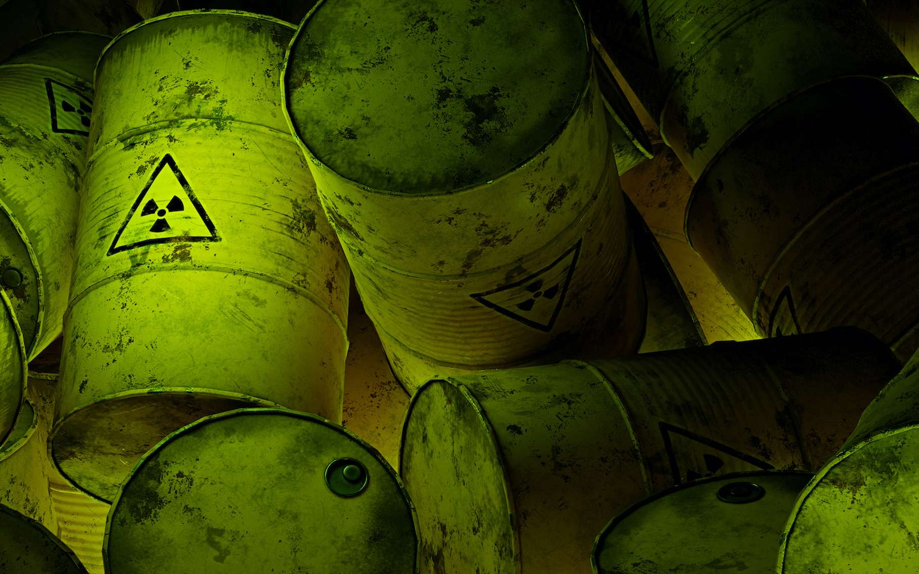Des chercheurs de l'université de l'État du Michigan (MSU, États-Unis) expliquent comment des Geobacters parviennent à éliminer l'uranium radioactif de leur environnement. © dottedyeti, Adobe Stock