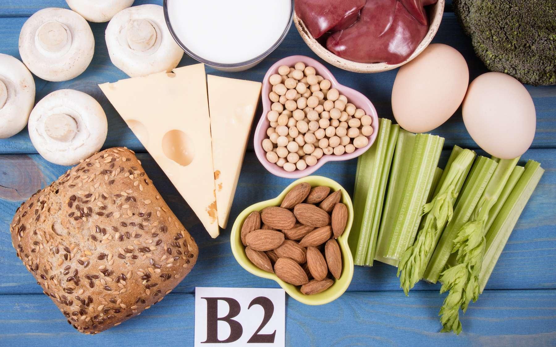 La vitamine B2 est surtout présente dans les viandes, le fromage, les œufs ou les produits céréaliers. © morissfoto, Adobe Stock