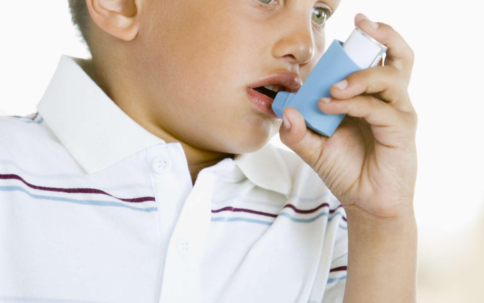 Les bronchodilatateurs béta-agonistes traitent la contraction anormale des muscles de la paroi des bronches. © Phovoir