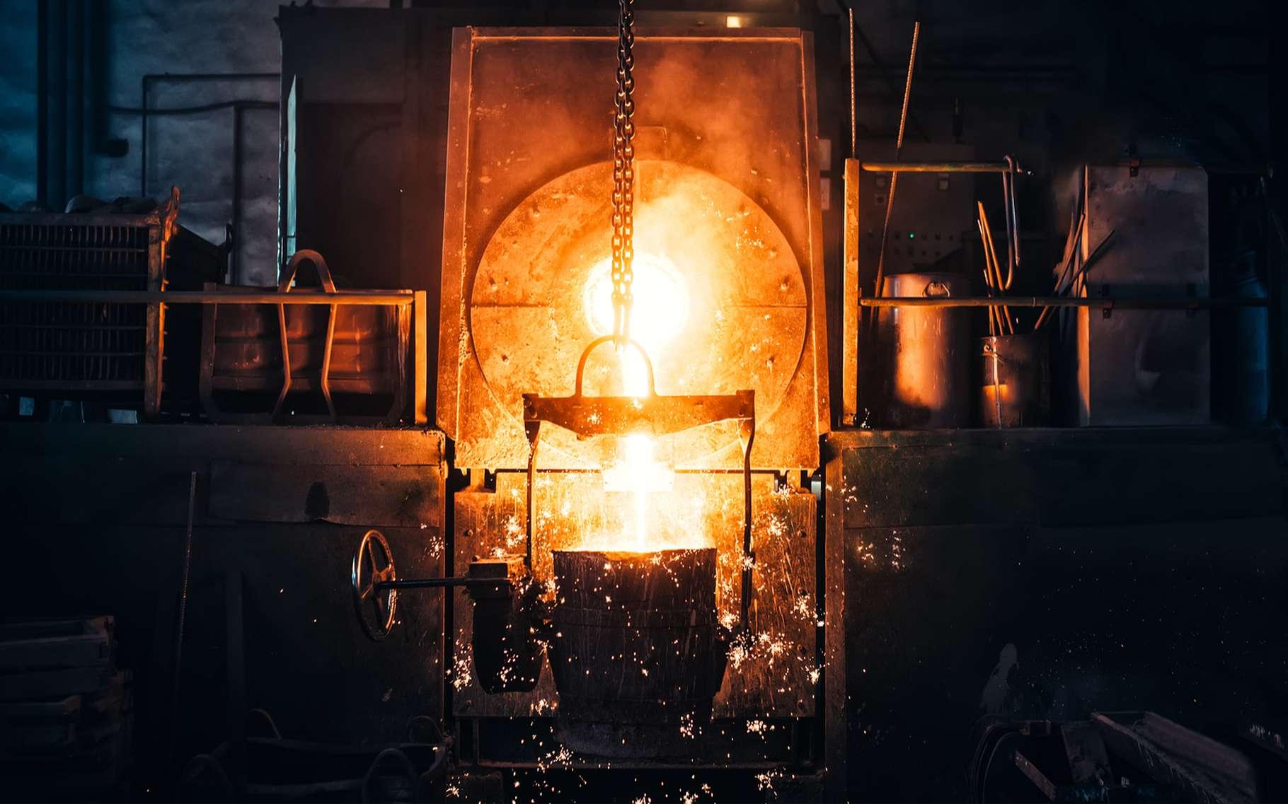 Le fer est à la base de la fabrication de l'acier et de la fonte. © bogdanhoda, Shutterstock
