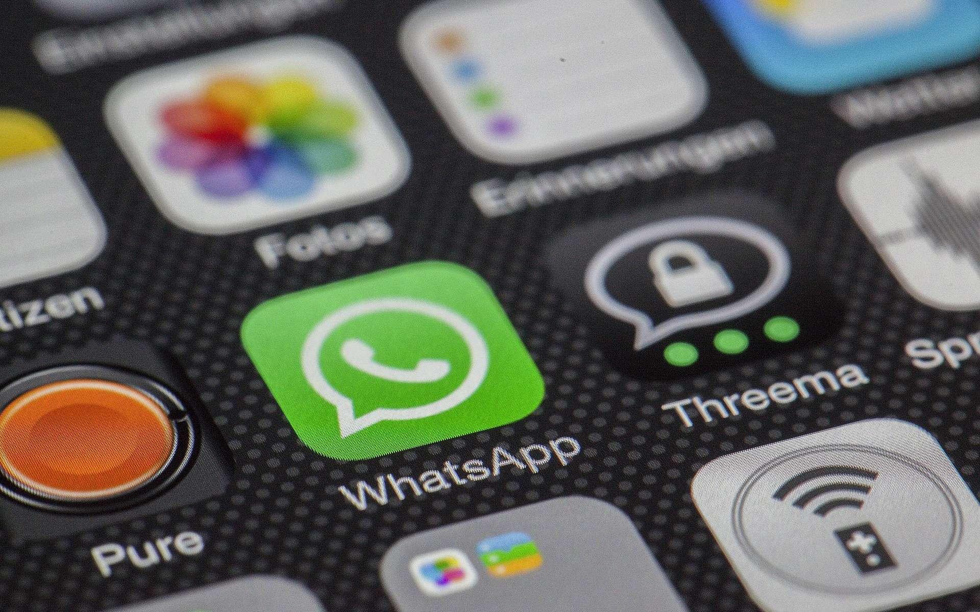La messagerie instantanée WhatsApp permet aussi de passer des appels gratuits entre les utilisateurs de l'application. © LoboStudioHamburg, Pixabay, DP