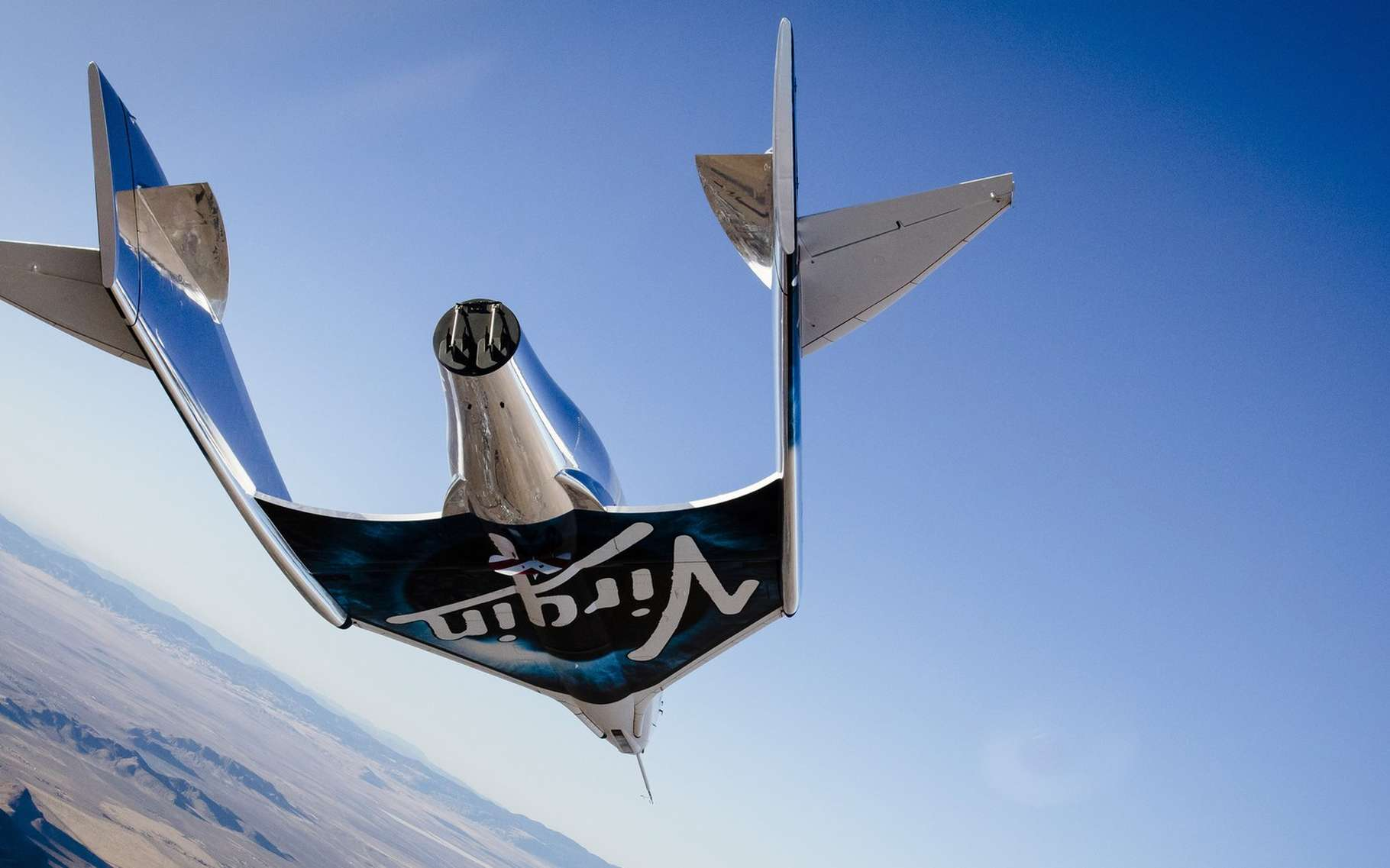 L'avion Orbital Unity de Virgin Galactic est une évolution du SpaceShipTwo créée suite au crash fatal d'octobre 2014. © Virgin Galactic