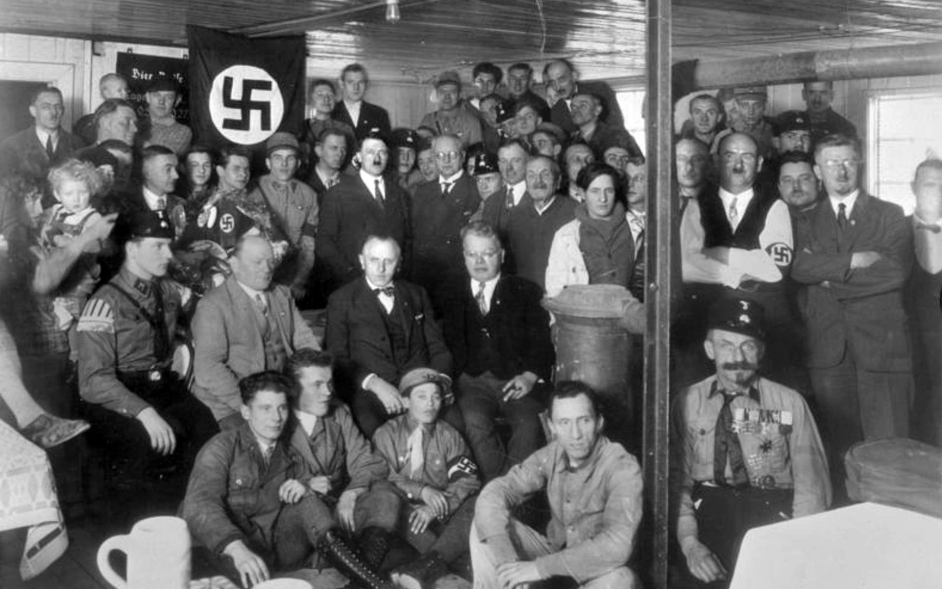 Adolf Hitler a profité de l'antisémitisme et de la crise économique pour favoriser la montée de l'idéologie nazi en Allemagne. © Commons Wikimedia, CC by-sa 3.0