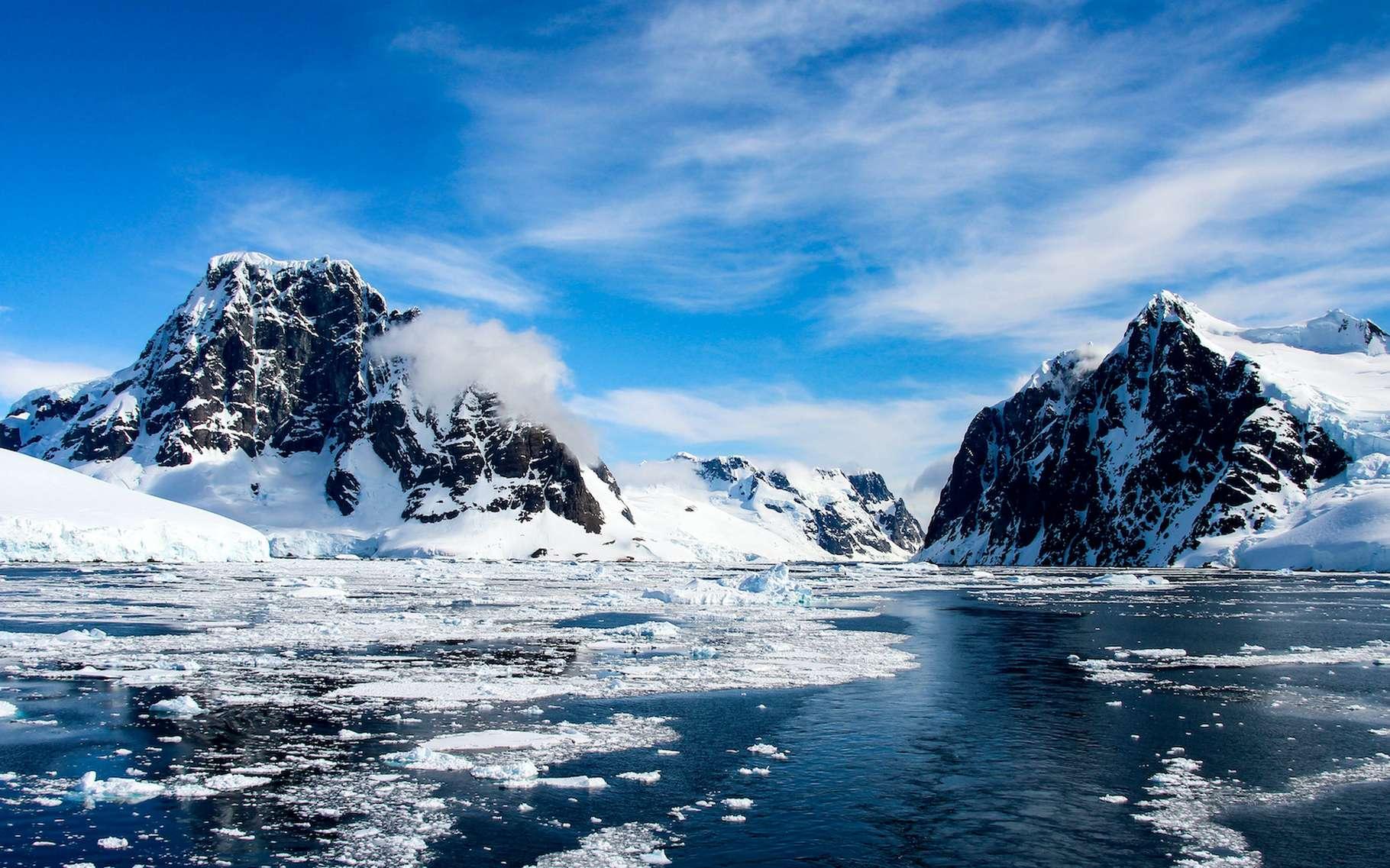 Après la vague de chaleur qu'a connue l'Antarctique il y a quelques jours, les glaces ont fondu de manière tout à fait inhabituelle. © evenfh, Adobe Stock