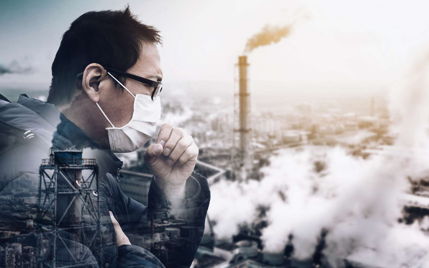 Les particules fines qui polluent notre atmosphère constituent un problème de santé publique majeur dans le monde entier. Avec leur carte, des chercheurs de l'université de Washington à Saint-Louis (États-Unis) tentent de clarifier la connaissance que nous en avons. © Tom Wang, Adobe Stock