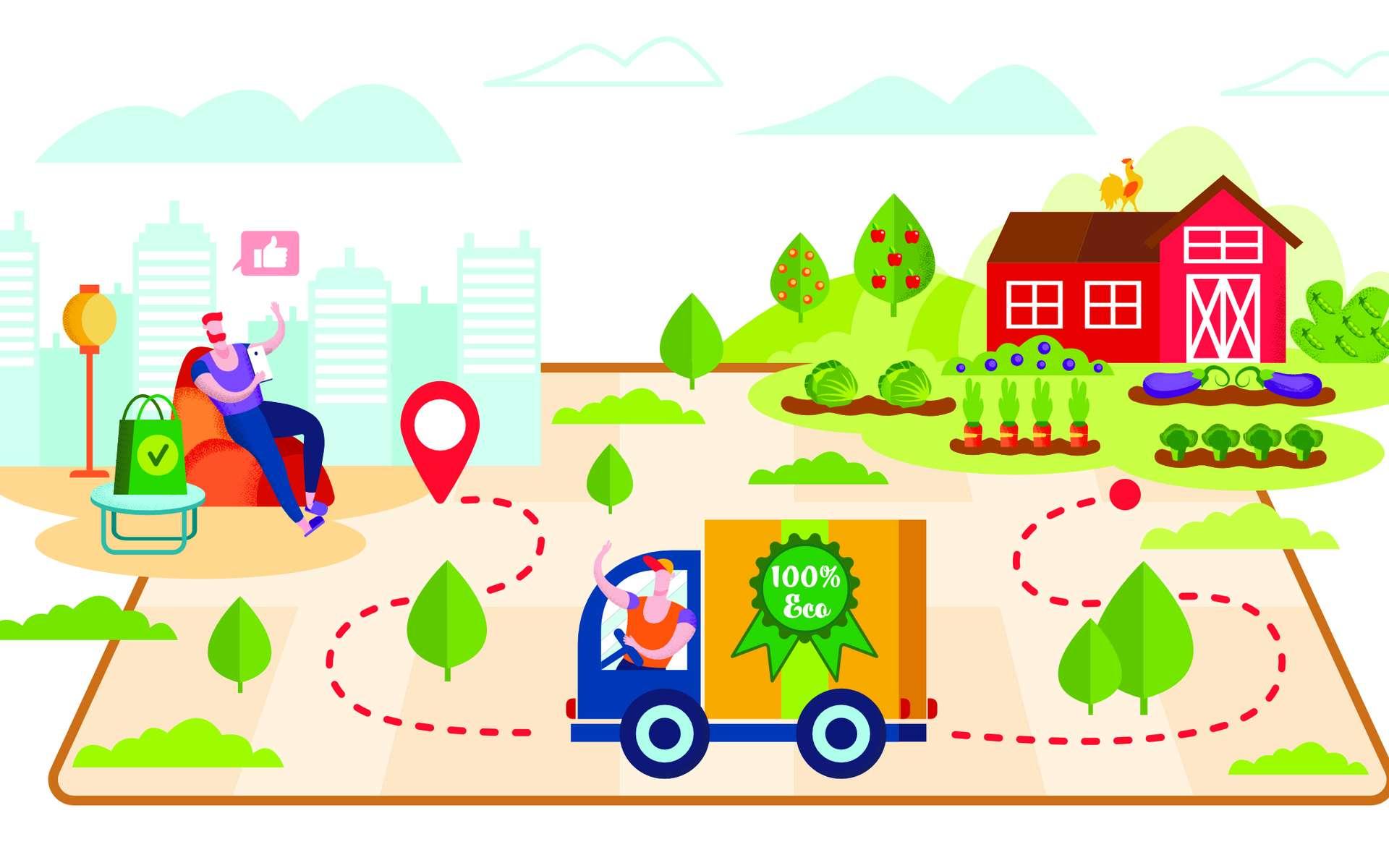 Acheter local : quel réel bénéfice pour l'environnement ? © Mykola, Adobe Stock
