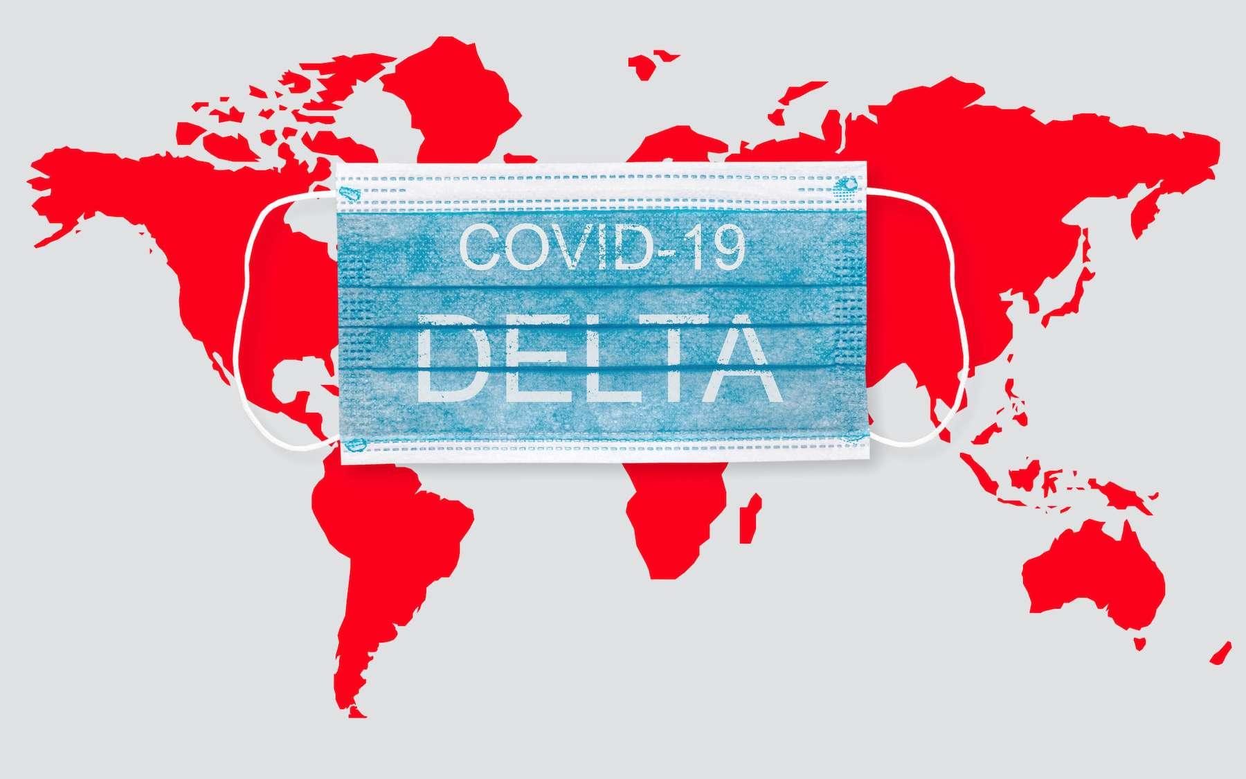 La haute transmissibilité du variant Delta ne permet plus d'envisager une immunité collective. © Tomas Ragina, Adobe Stock