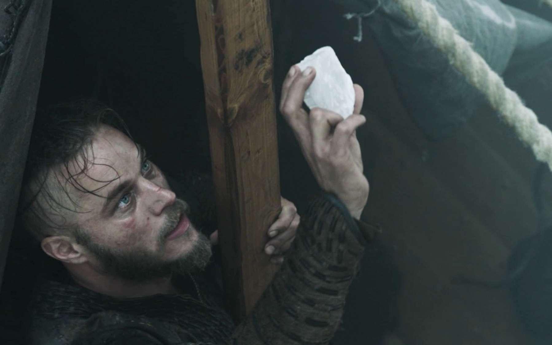 La pierre de soleil qui intrigue tant les scientifiques fait son apparition jusque dans la série Vikings. © History Channel