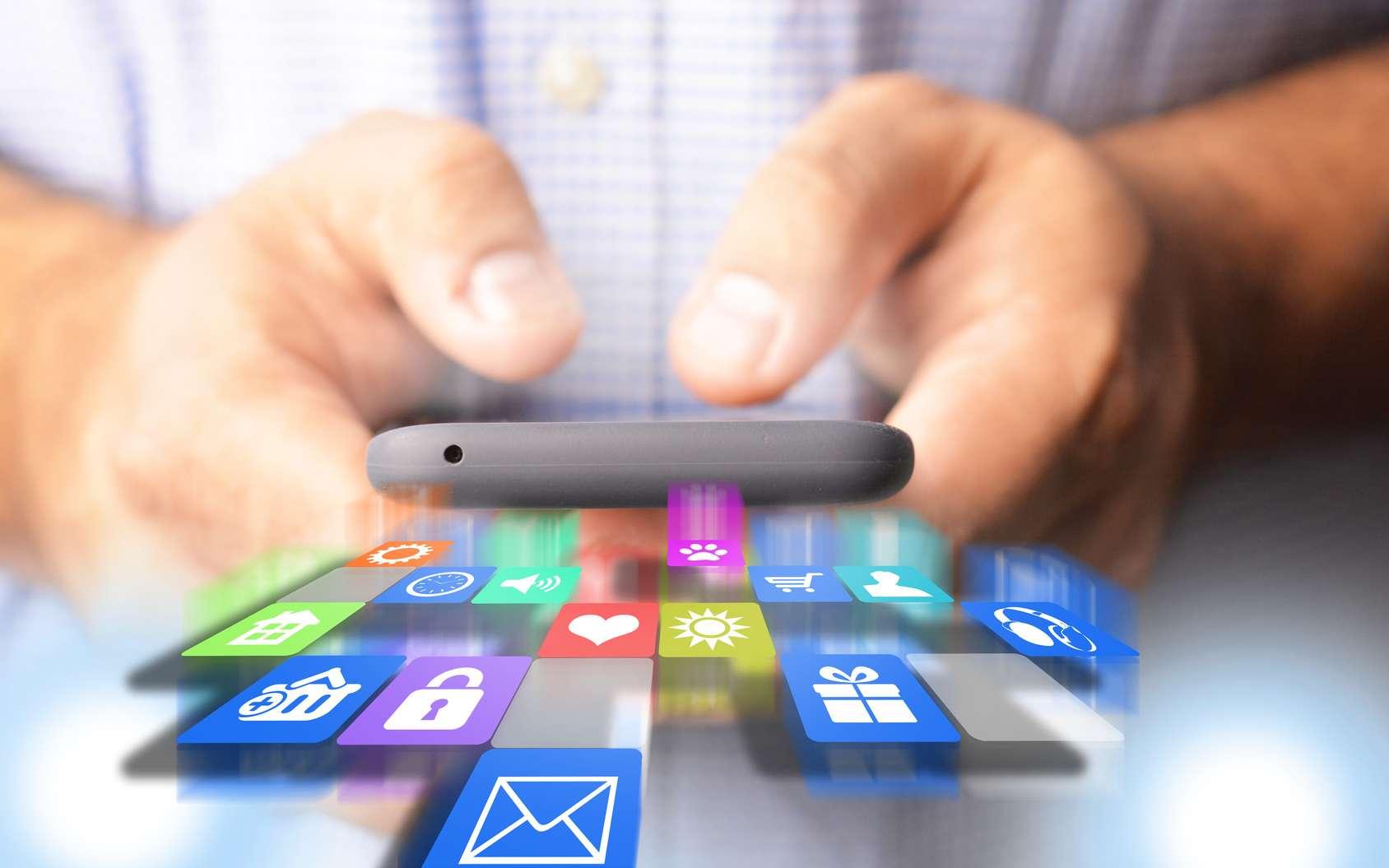 Alphonso est présent dans plus de 1.000 applications et jeux pour Android et iOS. © Adrian_ilie825, Fotolia