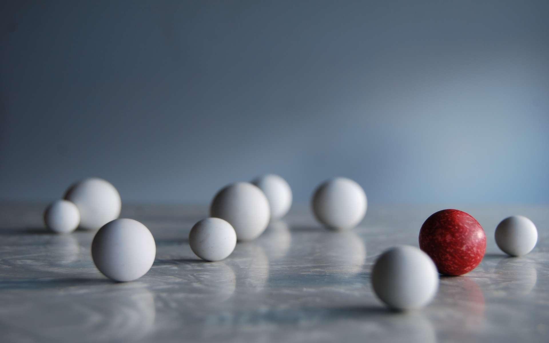 Le volume d'une sphère s'obtient en appliquant la formule suivante : (4 x π x r3)/3. © Marc Moss, Flickr, CC by-nc-nd 2.0