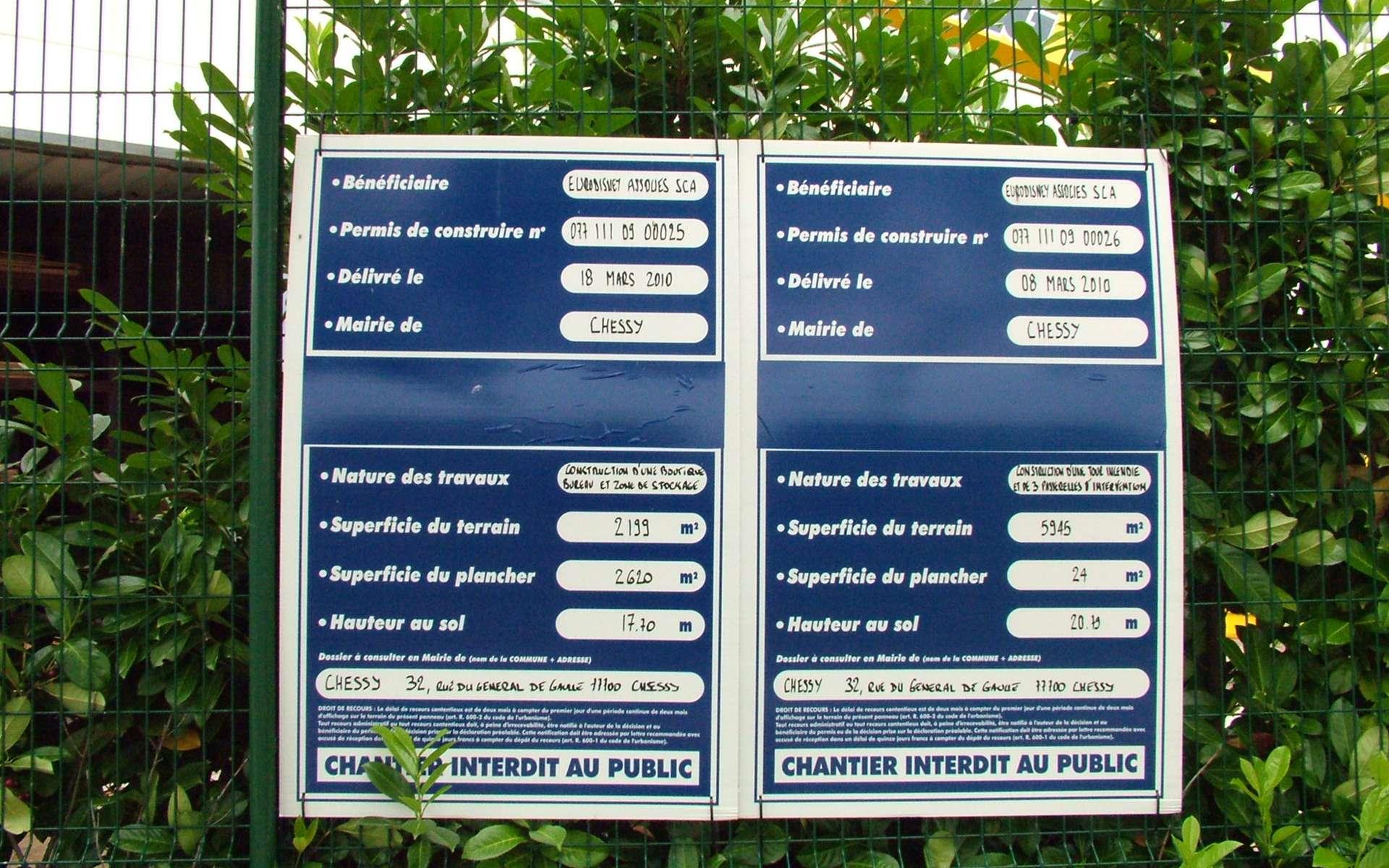 Le permis de construire n'est pas forcément obligatoire pour une extension de maison. © Hydrel, Wikimedia Commons, CC BY-SA 3.0