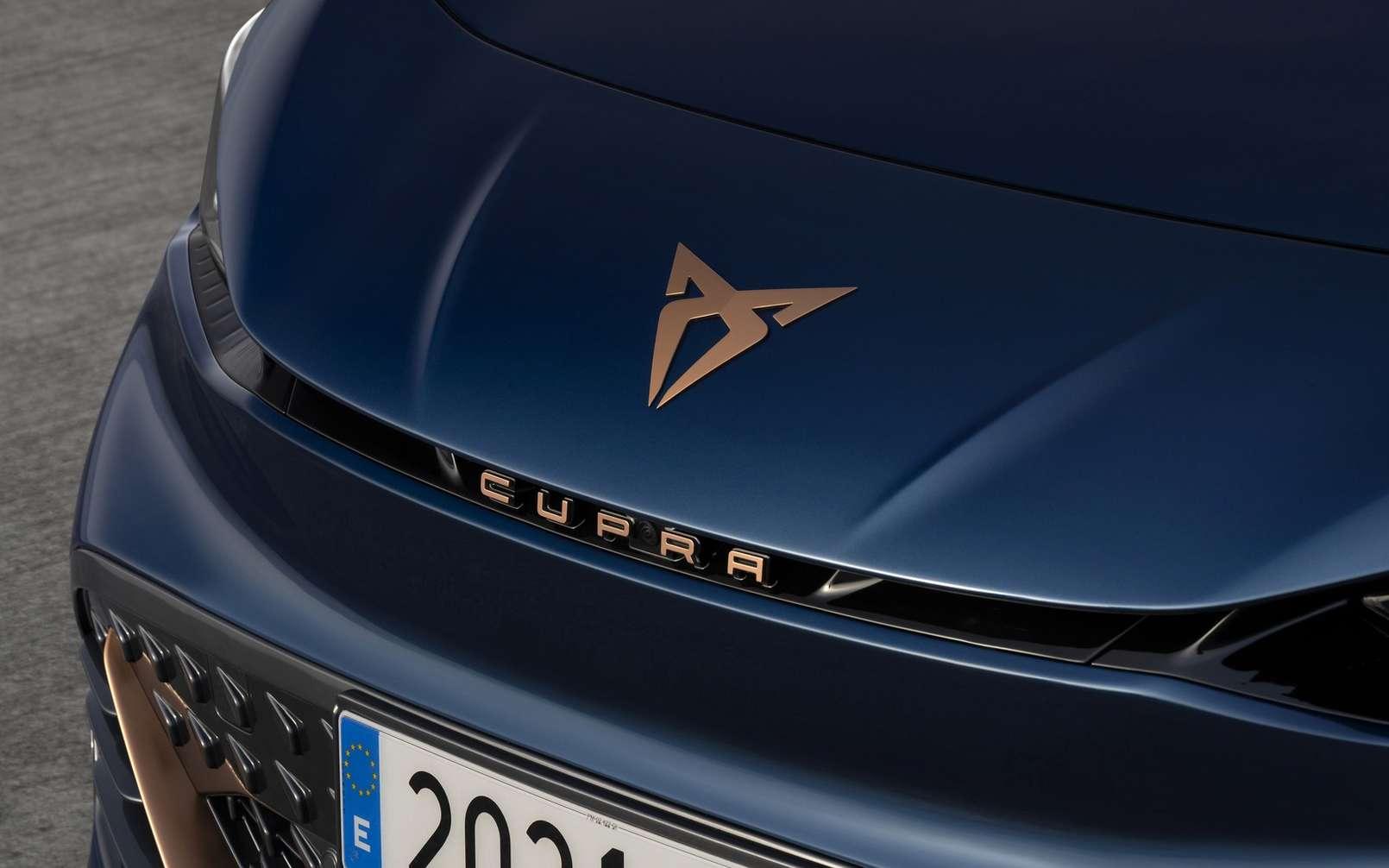 La Cupra Born affirme une ligne sportive et un style résolument haut de gamme. © Cupra