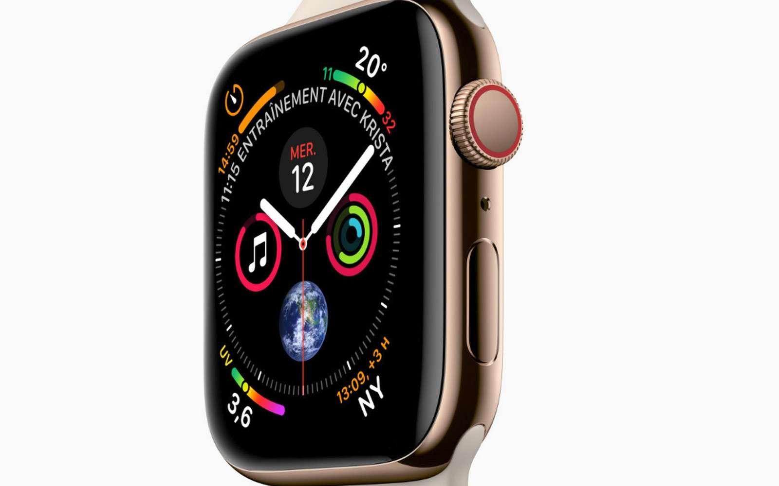 L'Apple Watch Series 4. © Apple