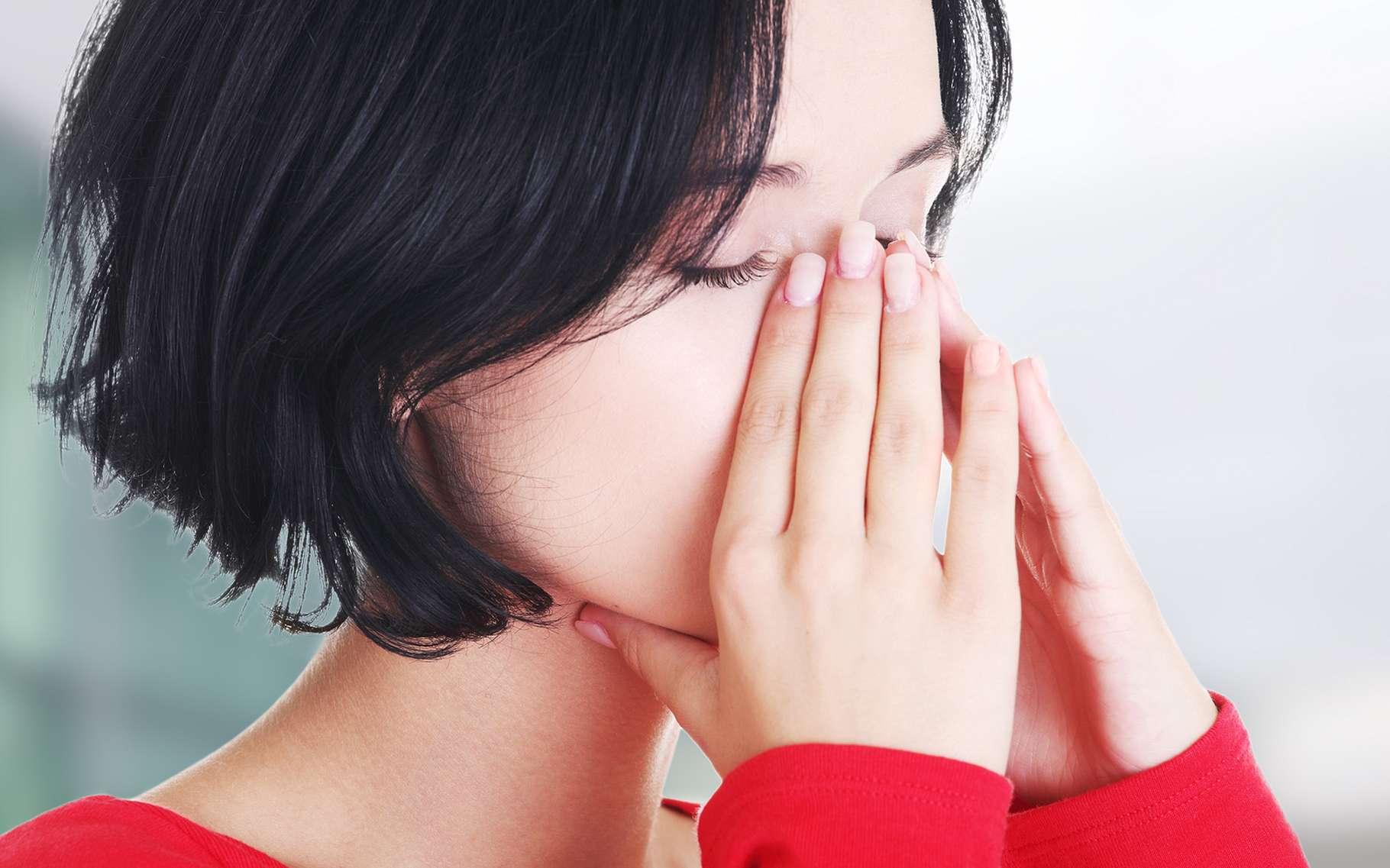 La sinusite est une inflammation des sinus liée à une infection. © Piotr Marcinski, Shutterstock