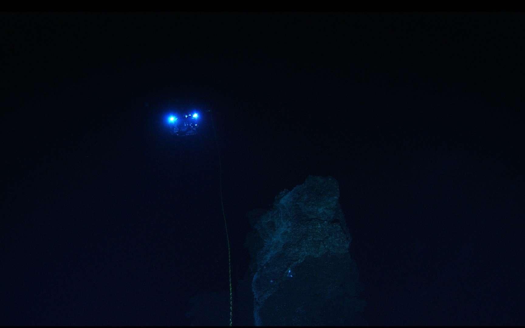 La plus ancienne épave a été retrouvée en mer Noire grâce à un ROV. © NOAA Photo Library