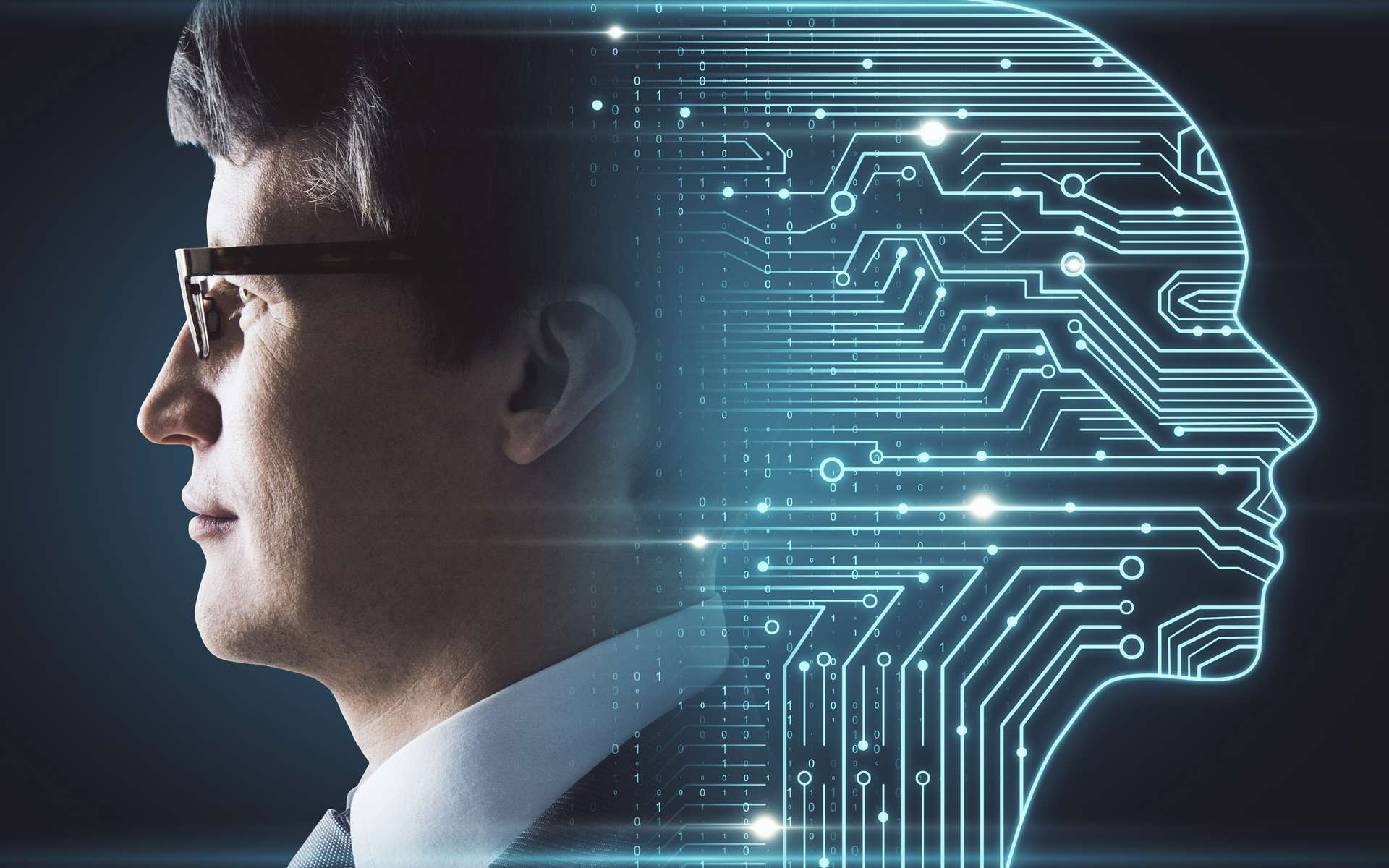 Microsoft utilise l'intelligence artificielle pour détecter les deepfakes. © peshkov, Adobe stock