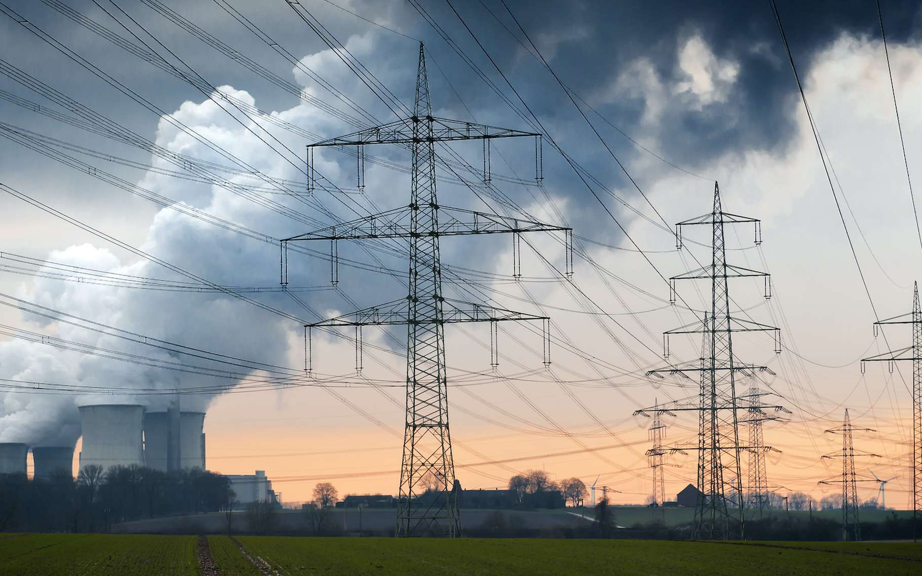 Pendant le confinement imposé par la crise du coronavirus, la demande européenne en électricité a baissé et avec elle, plus encore, les émissions de de CO2 du secteur. © Tom Bayer, Adobe Stock