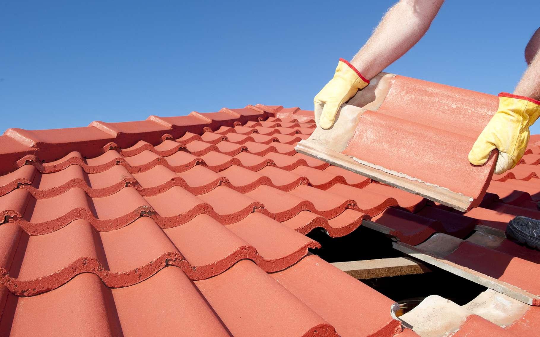 Les normes pour les pentes de toit doivent être respectées. © Rob Bayer, Shutterstock