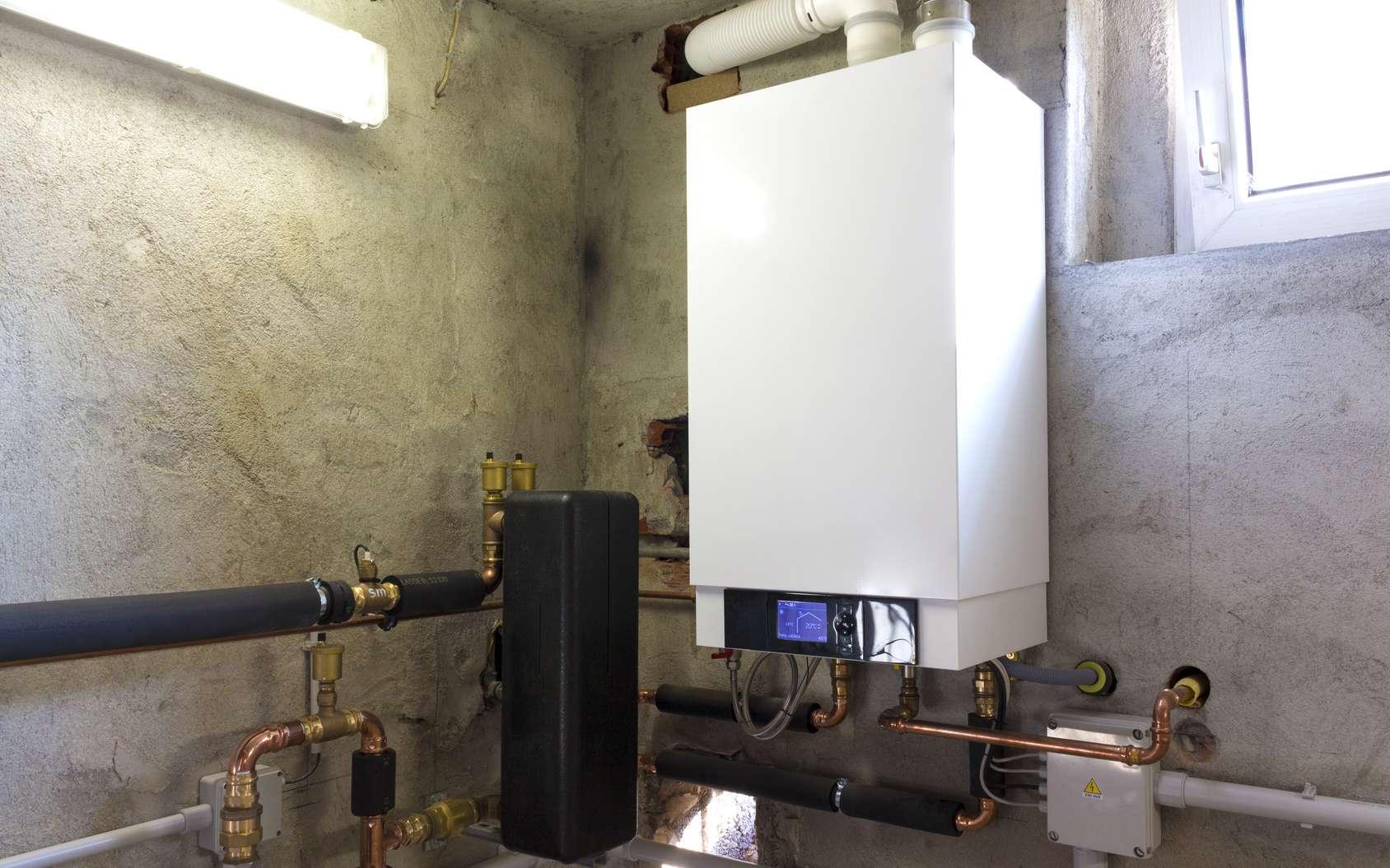 La plupart des chaudières à condensation fonctionnent au gaz. © matteogirelli, Fotolia