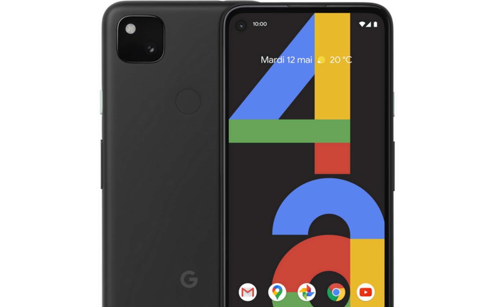 Le Pixel 4a de Google est disponible à 349 euros depuis le 1er octobre. © Google