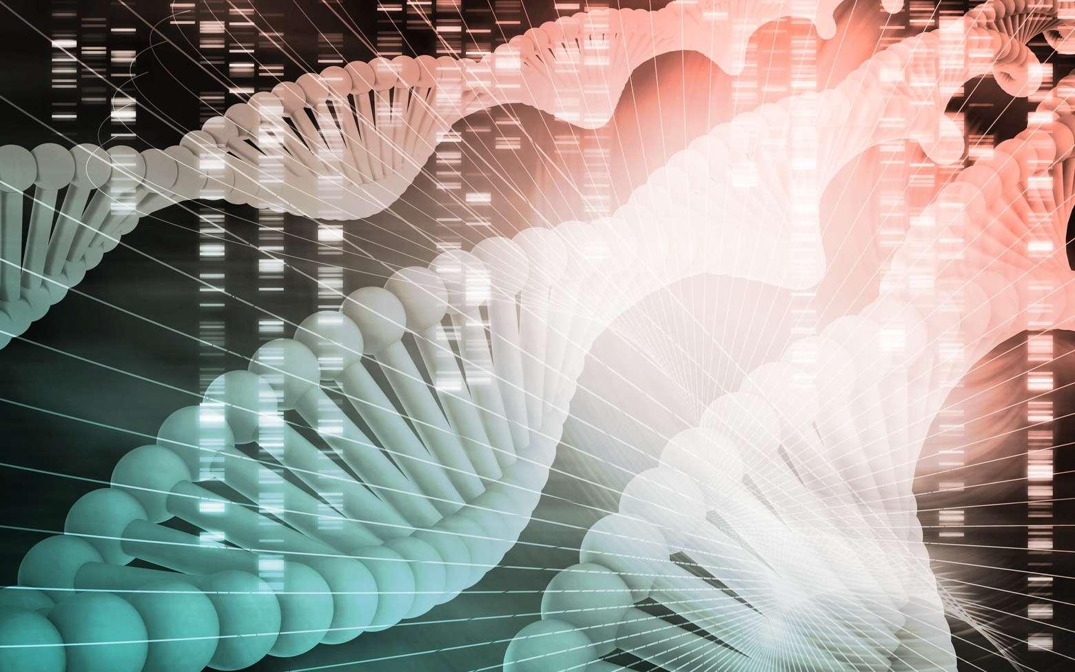 La thérapie génique consiste à corriger un gène déficient. © kentoh, Fotolia