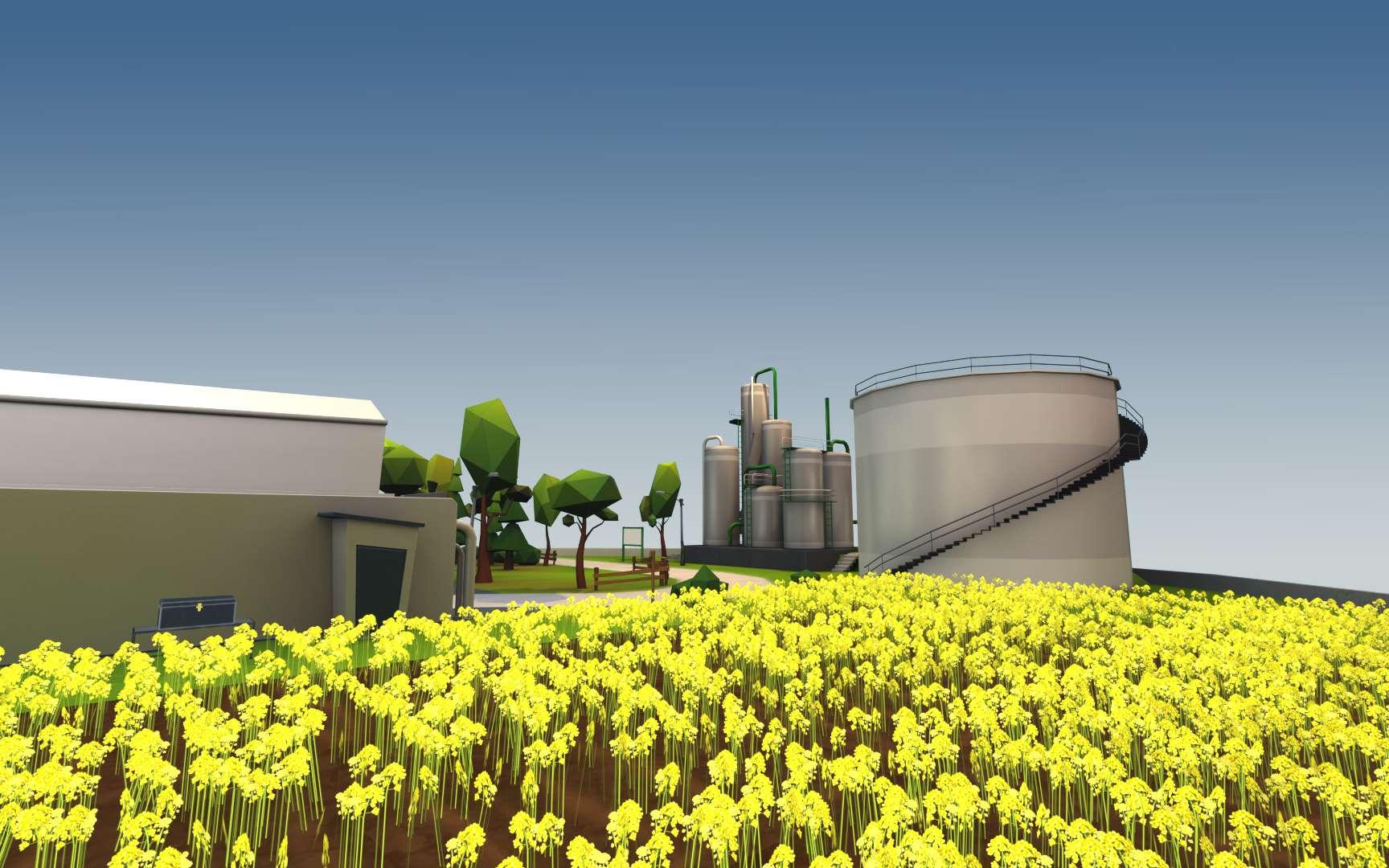Le Mooc Transition Energétique de l'IFP School permet d'explorer des univers virtuels en 3D. © IFP School