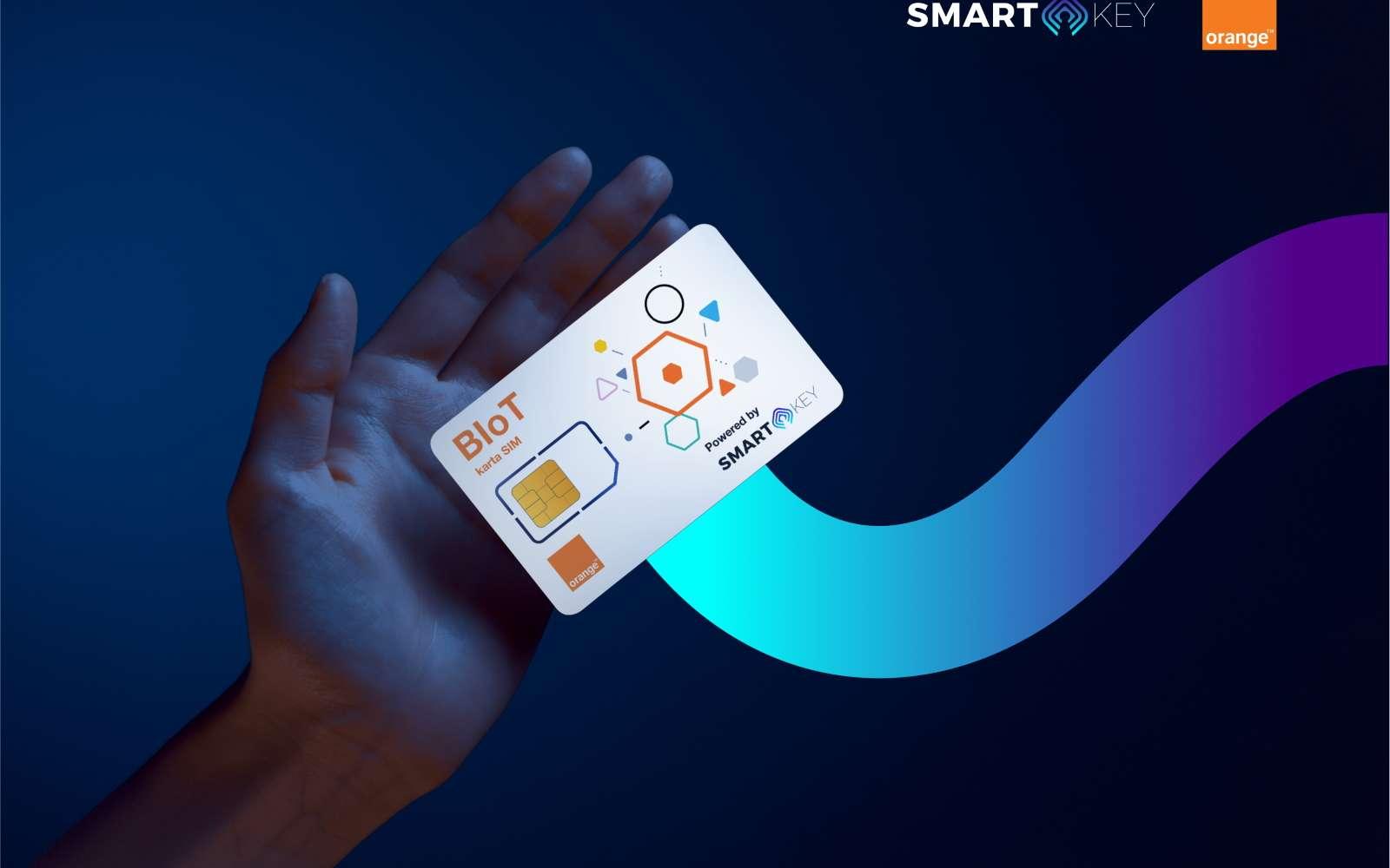 Smartkey et Orange proposent des cartes SIM dédiées aux smartcity pour pouvoir piloter leurs objets connectés en toute sécurité et souplesse. © Smartkey / Orange