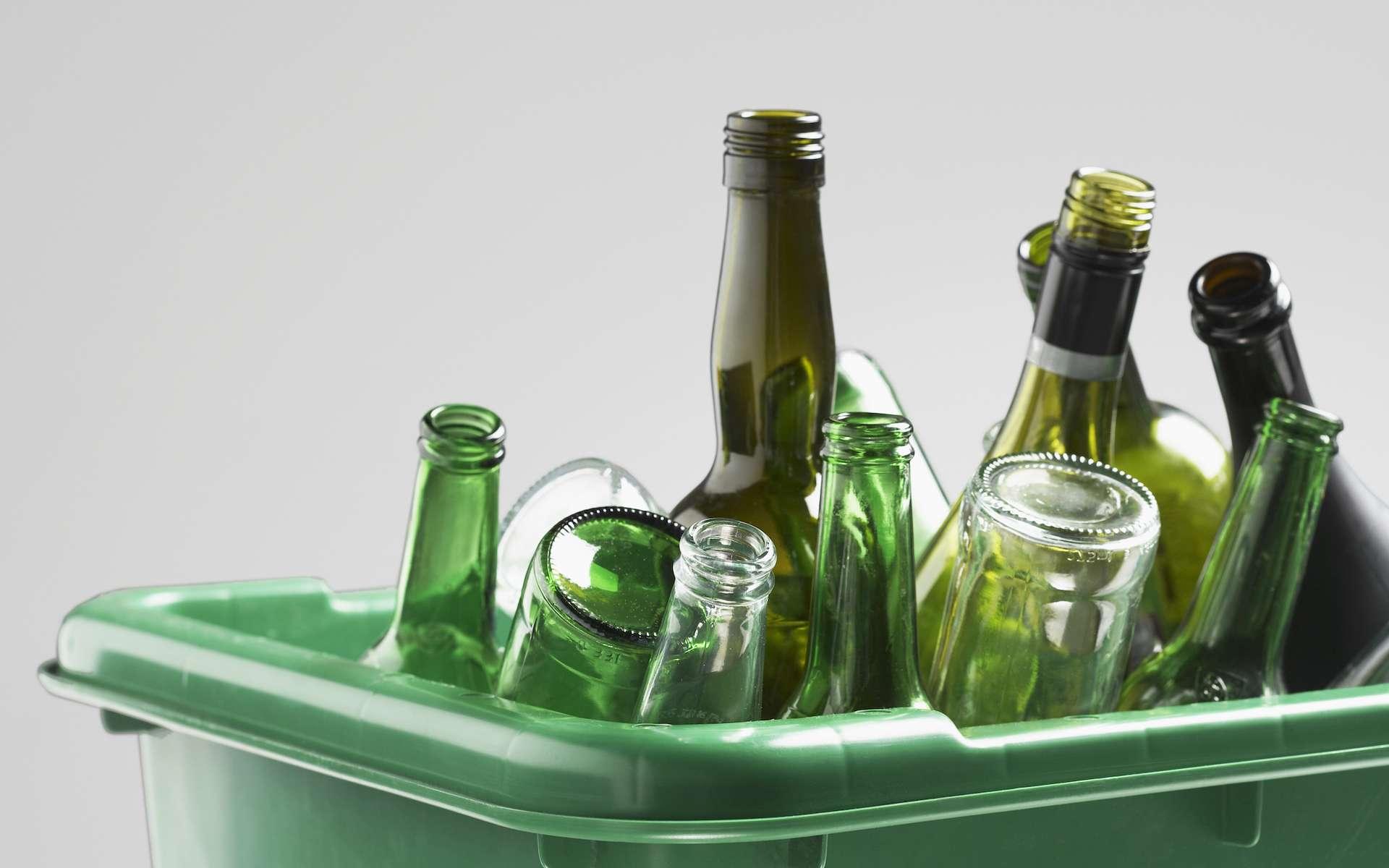 Le verre est un matériau recyclable à 100 % et à l'infini. © bikeriderlondon, Shutterstock